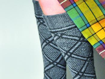 image of Gairloch pattern stockings